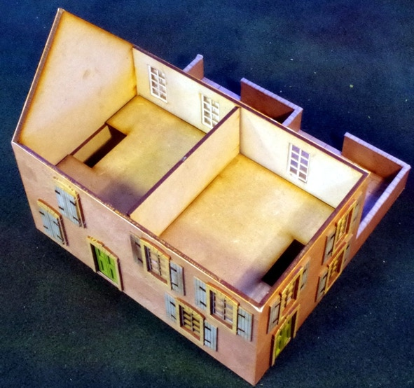 Optional removable first floor