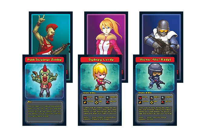 Collectible Infectonator Cards