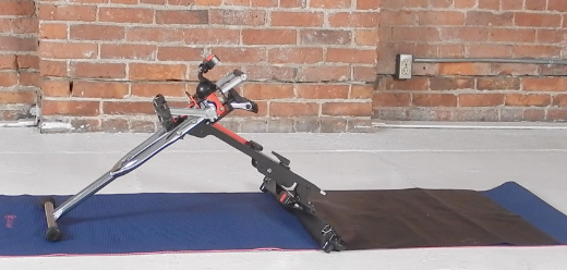 The use of the Excy Mat leverages our patent-pending approach in a similar way as the Excy Keeper, but the mat is attached to the bar and not the Excy Cycle, giving it more stability for those who need it.