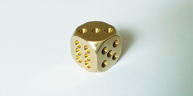 Normal version C-DICE with hole pips
