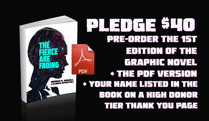 Pledge $40, Get the Book, The PDF version, and Your name on the High Donor Thank You Page