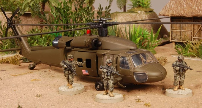 Blackhawk available in the add-on section.
