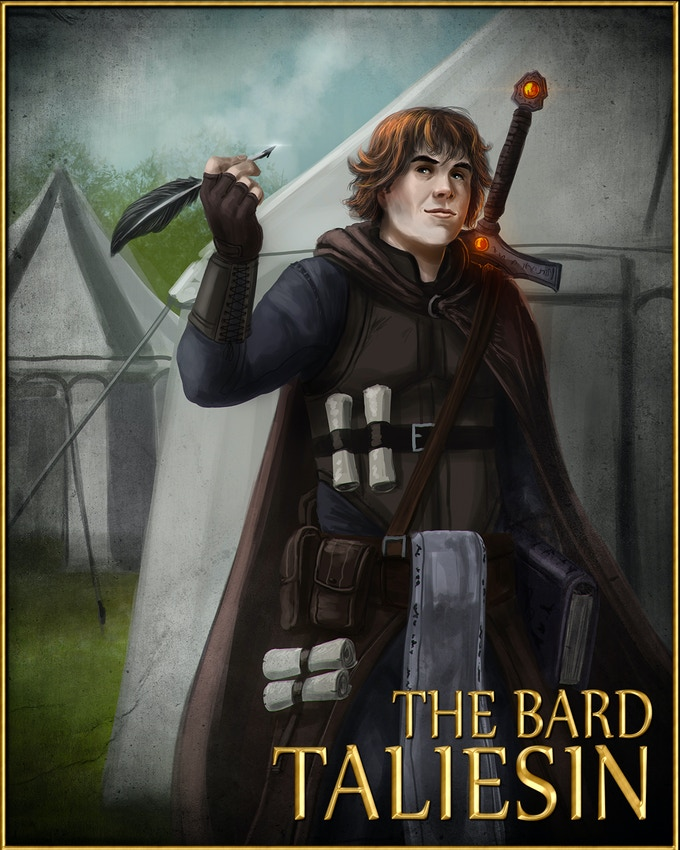The Bard Taliesin