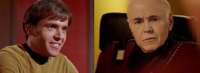 Pavel Chekov Then & Now