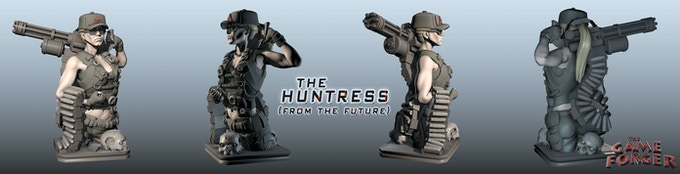 The Huntress kickstarter Exclusive
