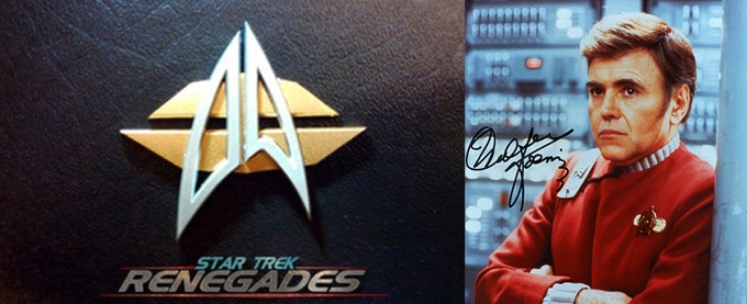 Comm Badge and Example of Autographed Photo