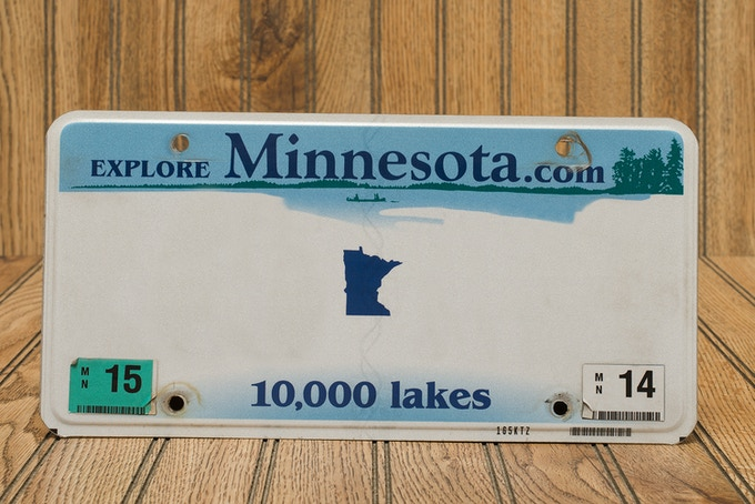 Pledge $10,000 - You get to personalize a vanity plate for The Winnebago