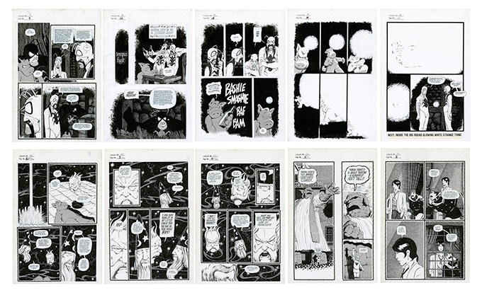 Thumbnail Image of all 10 CAN4 Plates - Scroll down for detailed images and excerpts from the notes pages.