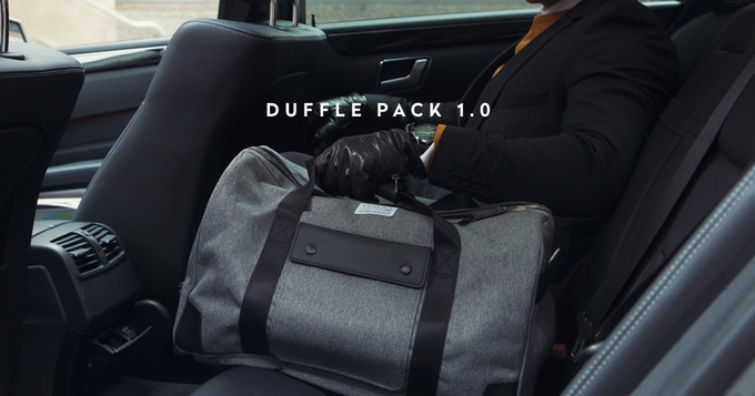 Venques Duffle Pack 10 Two Ways Of Carrying