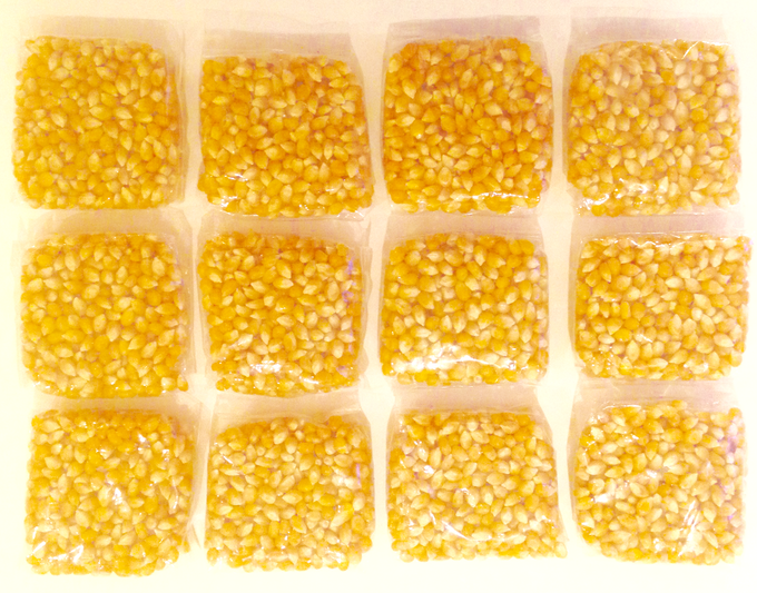 12 Popcorn Pouches Included with Each Popzup Popper