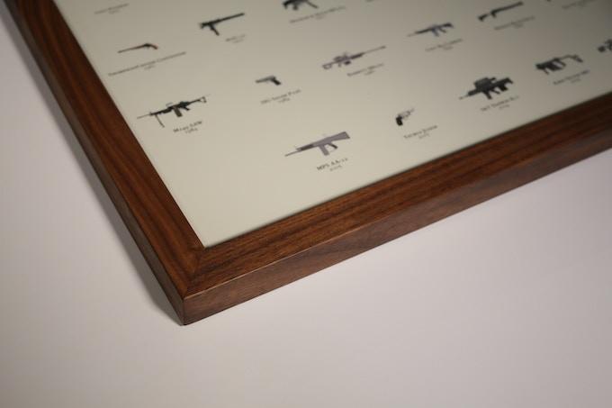 Framed Print (Walnut)
