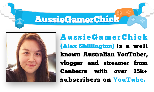 AussieGamerChick (Alex Shillington) is a well known Australian YouTuber, vlogger, and streamer from Canberra with over 15k+ subscribers on YouTube.