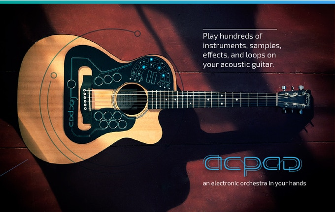 ACPAD – The Electronic Orchestra For Your Guitar by Robin