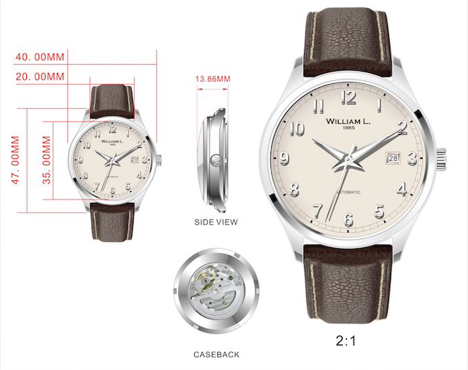 watches vintage style affordable prices by guillaume laidet kickstarter