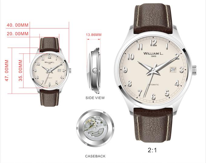 Automatic Vintage Dapper Watch