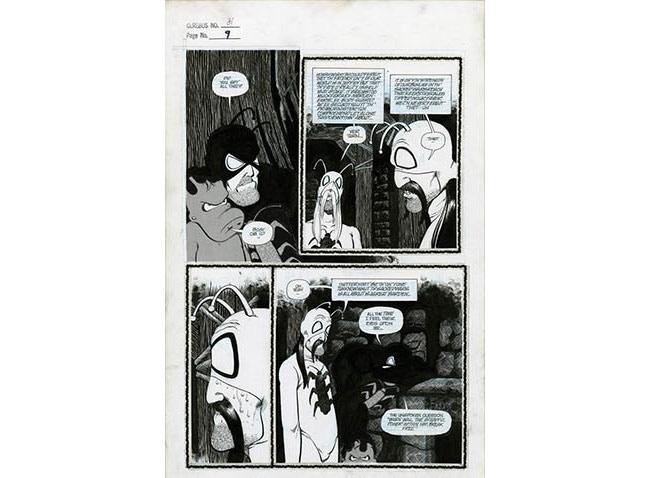 Plate #1 - CEREBUS No. 81 page 9