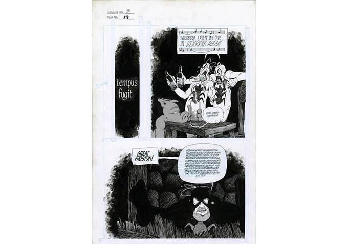Plate #2 - CEREBUS No. 81 page 17
