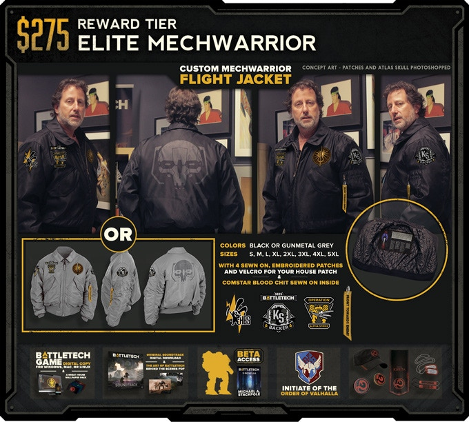 Click for larger Flight Jacket image.