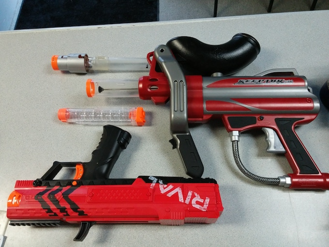 Nerf Rival Apollo and BattleMAX Sceptor