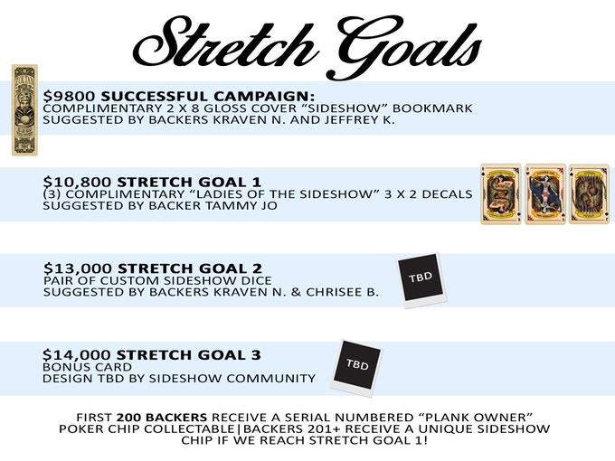 """""""Backer Submitted"""" Stretch Goals!"""