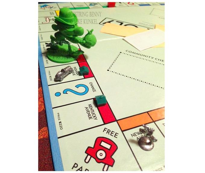 Monopoly Board © Parker Bros