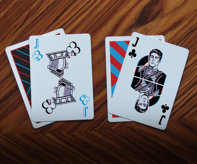 Left: Limited Edition Stretch Goal Deck
