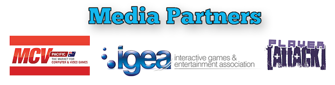 Thanks so much to MCV Pacific, IGEA, and Player Attack for being our media partners!