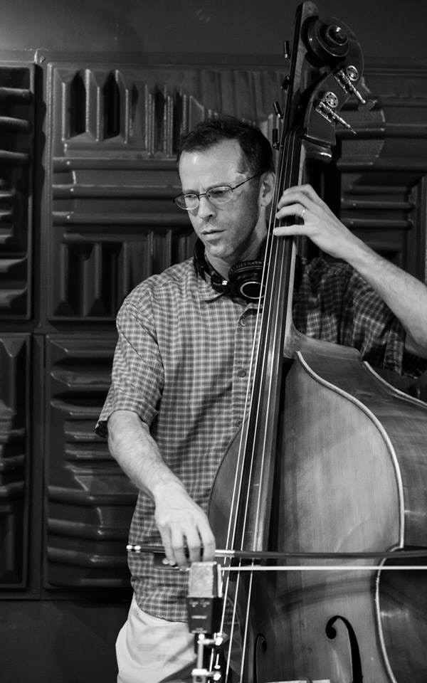 Jason Schooler, our bass player (photo by Sacha Müller)