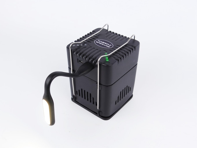 Warpfive Generator with LED light