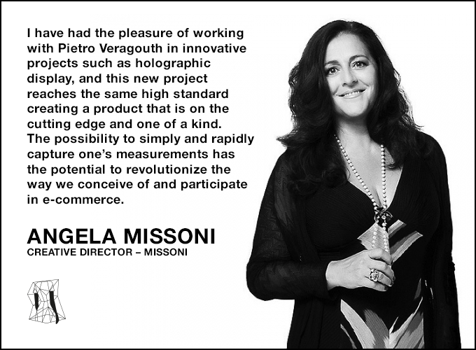 Angela Missoni on SizeGenie