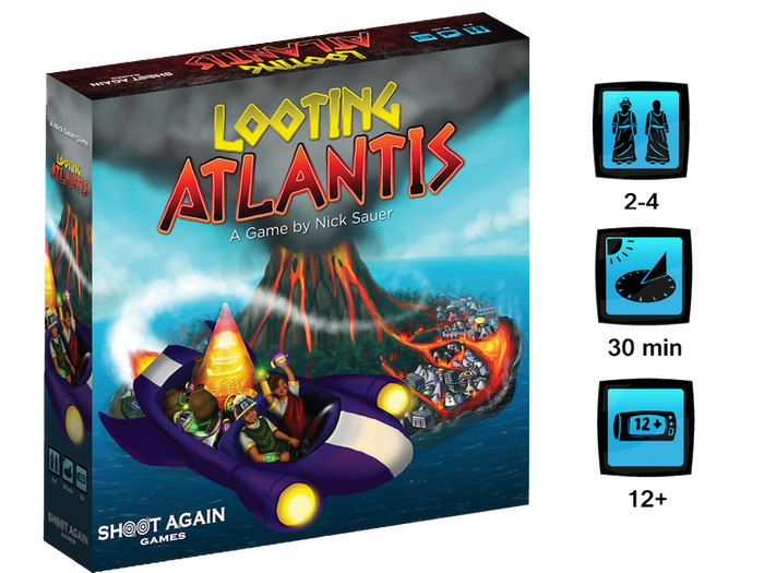 A game of theft, betrayal, and eternal glory set in the falling city of Atlantis.