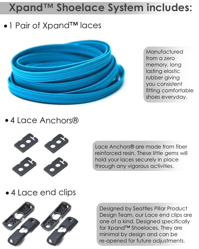 Xpand Lacing System Singapore | Unlike regular shoelaces , the Xpand ...