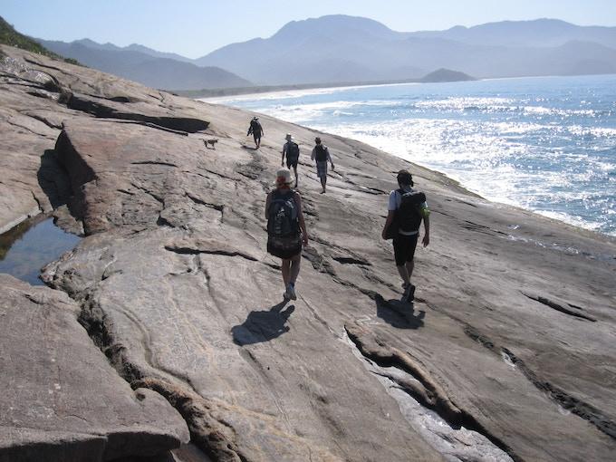 Cultural walk through Ilha Grande with Capacete Director Helmut Batista