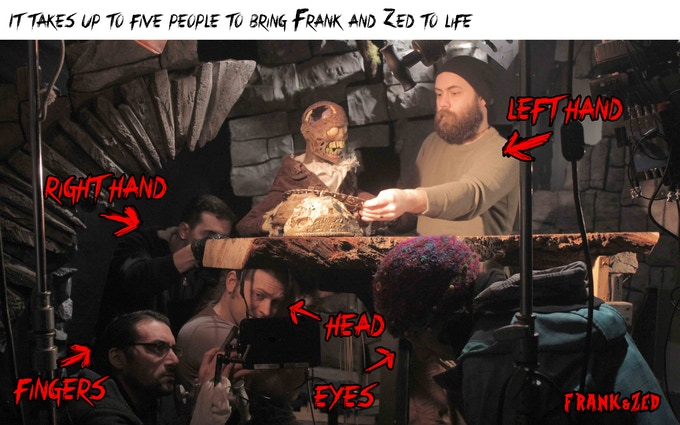 Frank & Zed: An All Puppet Monster Movie by Jesse Blanchard