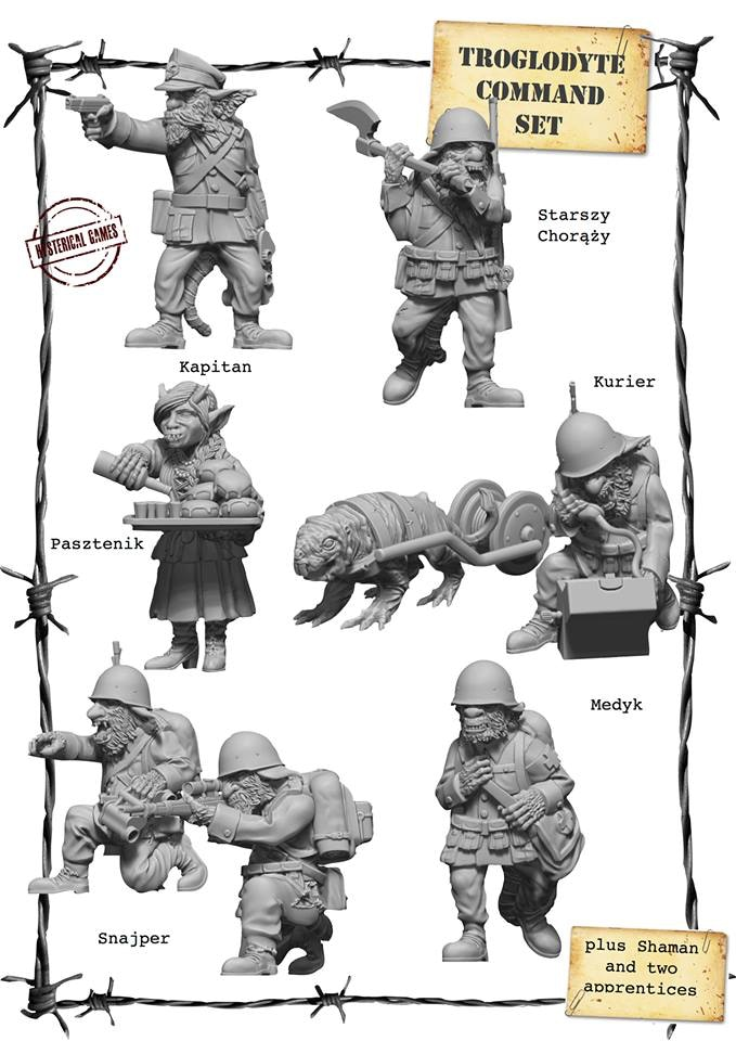 x10 Resin miniatures, supplied with x10 25mm Plastic Bases (available as an add on for £22.00)