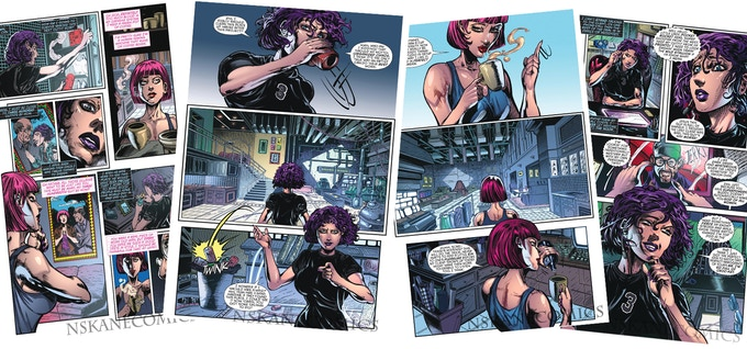 Sequential pages