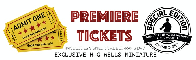 Two tickets to the UK film premiere.