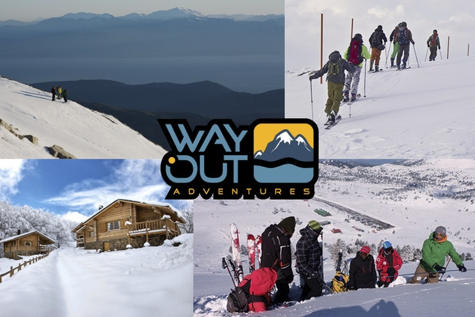 Touring Clinics with WayOut Adventures. Package includes 2 days/2 nights, food accommodation, and 2 full day lessons.