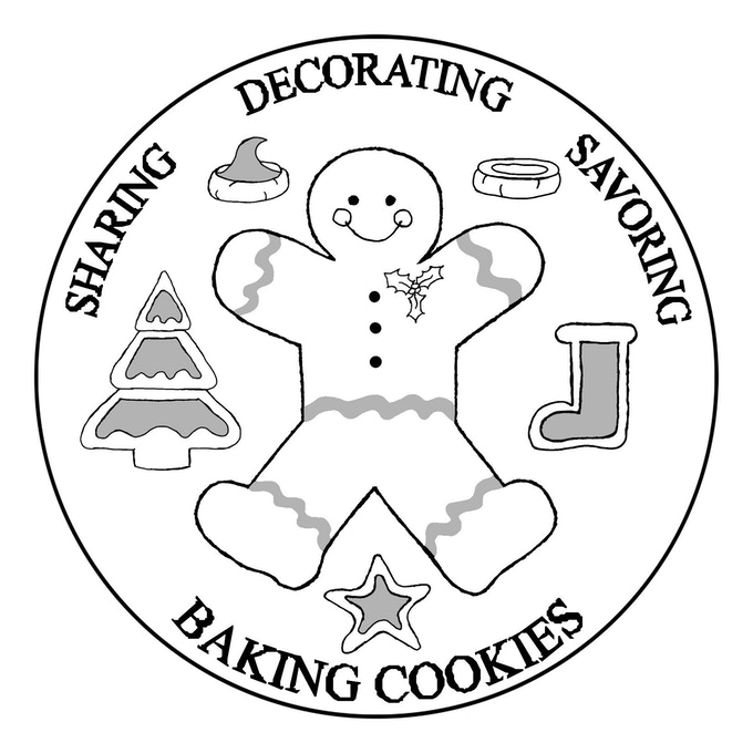 Baking Cookies Coin Design