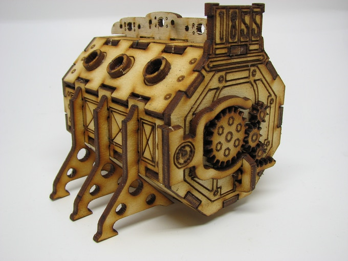 """Moriarties' """"Time Vault"""" - part of the Mad Scientist series."""