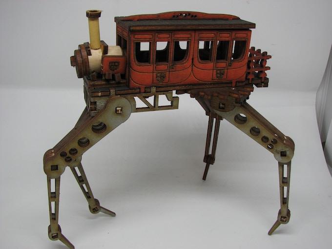 Albert Tomson's Ambulatory Train.