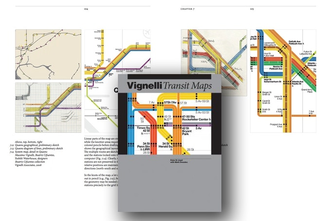 """Vignelli: Transit Maps"" by Peter B. Lloyd (Rochester Institute of Technology Press, December 2012)"