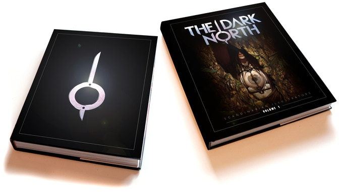 The Dark North - Volume 1 in Dark Edition and Kickstarter Edition (covers not final).