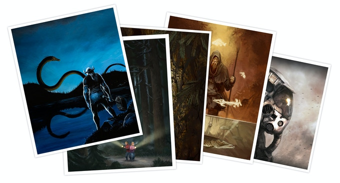 """Prints from """"The Dark North - Volume 1"""""""