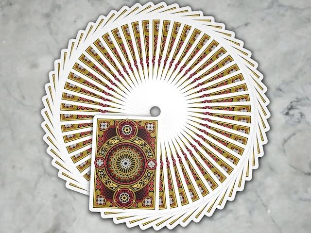 Rose Deck Fan