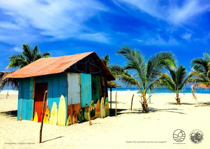"""""""Playa Zicatela"""" by Sascha Chapman"""