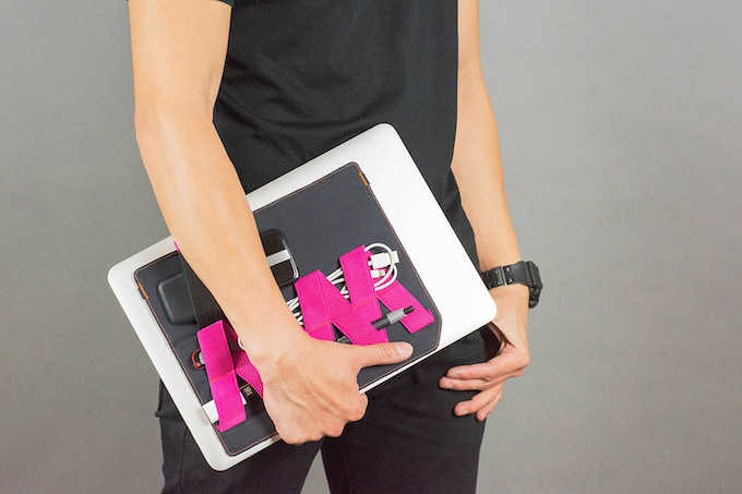An accessory for mobile workers