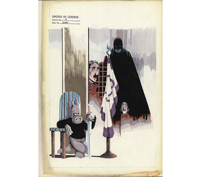 BP 33 - Swords of Cerebus Volume 4 cover