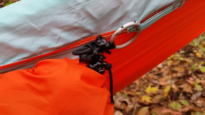 Multi-function loops attach underquilt