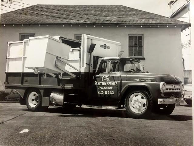1958 City Sanitary Garbage Truck